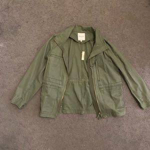 Madewell Foliage Green Jacket